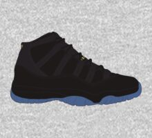 "Air Jordan XI (11) ""Gamma Blue"" by gaeldesmarais"