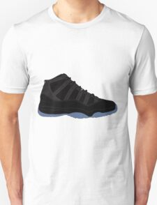 "Air Jordan XI (11) ""Gamma Blue"" Unisex T-Shirt"