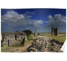 Hadleigh Castle  Poster