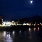 The Inn River at Innsbruck by sstarlightss