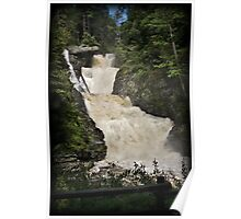 Raymondskill Falls Power Rush Poster