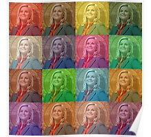 Leslie Knope's Presidential Photo Poster