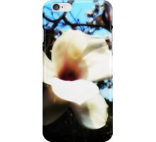 White Magnolia iPhone Case/Skin