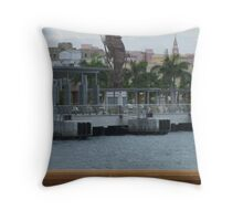 Seahorse Old San Juan Throw Pillow