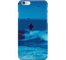 Fun, surfing at Half Moon Bay iPhone Case/Skin
