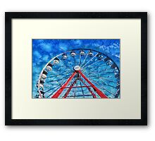 Carnival - Round and Round  Framed Print