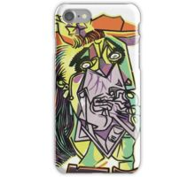 Picasso Screen Print Nº 24 iPhone Case/Skin