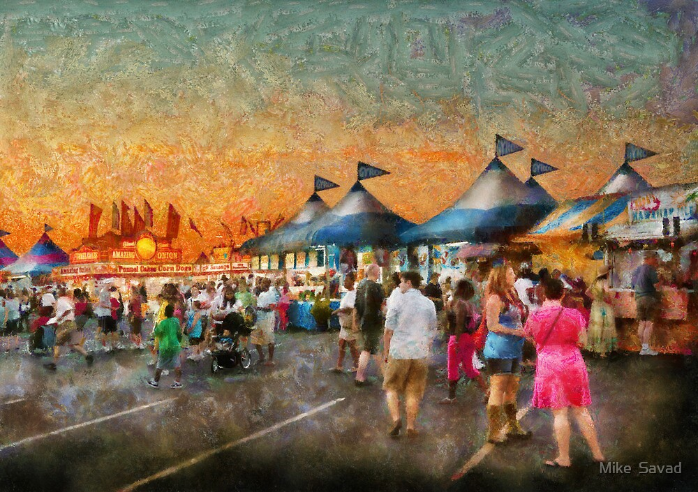 Carnival - Who wants Gyros by Mike  Savad