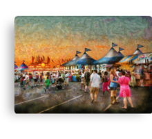 Carnival - Who wants Gyros Canvas Print