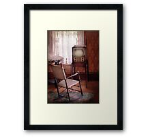 Television - The Invention of Television  Framed Print