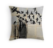 freedom ....(re-imagined)  Throw Pillow