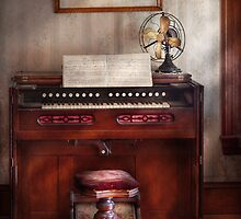 Musician - Organist - My Grandmothers organ by Mike  Savad