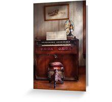 Musician - Organist - My Grandmothers organ Greeting Card
