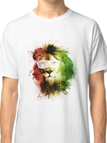 Rasta Lion Vision Classic T-Shirt