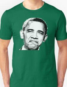 Awesome Barack Obama - Stencil - Street art Graffiti Popart Andy warhol by Jonny2may Unisex T-Shirt