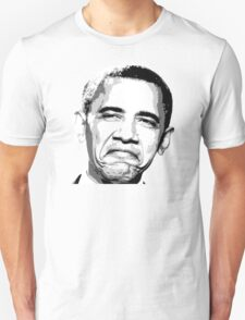Awesome Barack Obama - Stencil - Street art Graffiti Popart Andy warhol by Jonny2may T-Shirt