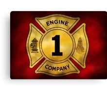 Fireman - Engine Company 1 Canvas Print