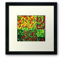 Many Peppers Two Framed Print