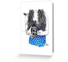 one day maybe  Greeting Card