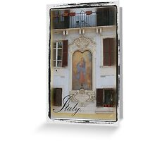 Fresco- Rome Greeting Card