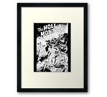MOLL OF THE MONSTER Framed Print