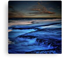 Sorrento Surf. Canvas Print