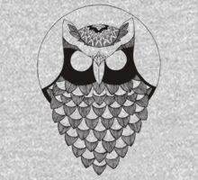 the owl One Piece - Short Sleeve