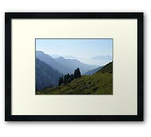 My Beloved  Mountains Framed Print