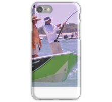 Team SignZoo Practicing for Tarpon Tournament iPhone Case/Skin