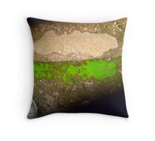 moss. Throw Pillow