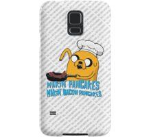 MAKIN' PANCAKES, MAKIN' BACON PANCAKES. Samsung Galaxy Case/Skin