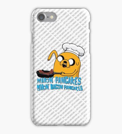 MAKIN' PANCAKES, MAKIN' BACON PANCAKES. iPhone Case/Skin