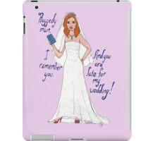 Amy Pond's Wedding iPad Case/Skin