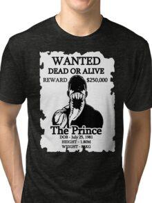 Wanted Prince Devitt - Venom (Finn Balor) T - Shirt Tri-blend T-Shirt