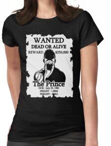 Wanted Prince Devitt - Venom (Finn Balor) T - Shirt Womens Fitted T-Shirt