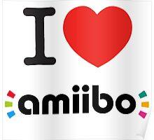 I <3 Amiibo  Poster