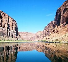 reflected in the canyon by LyssaMadness
