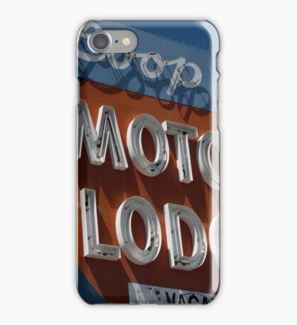 Loop Motor Lodge iPhone Case/Skin