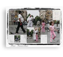 Summertime-Rome-Composite Canvas Print