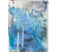 Blue Trees iPad Case/Skin