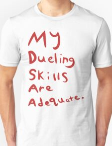 An Adequate Shirt Unisex T-Shirt