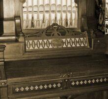 Old Pipe Organ Sticker