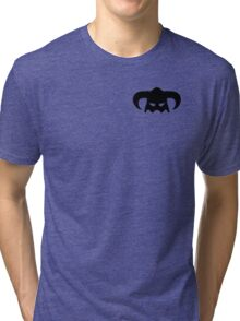 Dovahkiin Helmet Tri-blend T-Shirt