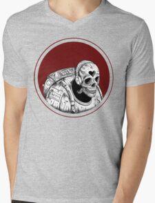 Skull Space Music Game - VER 1 Mens V-Neck T-Shirt