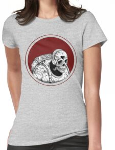 Skull Space Music Game - VER 1 Womens Fitted T-Shirt