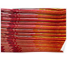 Stack o Brightly Colored Napkins Poster
