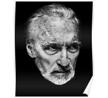 Sir Christopher Lee Poster