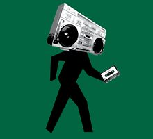 Ghetto Blaster Man T-Shirt