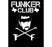 Funker Club - Terry Funk T shirt Photographic Print
