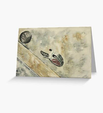 Lost Sole Greeting Card